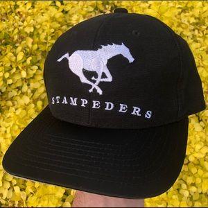 Starter Calgary Stampeders CFL strapback hat cap